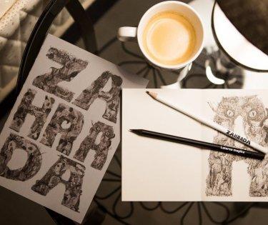 Designové zápisníky Zahrada